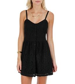 Volcom Women's Not So Classic Lace Dress