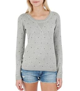 Hurley Women's Bruna Crew Neck Sweater