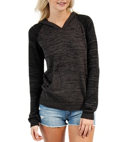 Hurley Women's Nicola Raglan Hooded Sweater