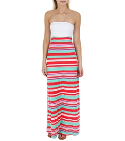 Hurley Women's Nalu Convertible Maxi Dress