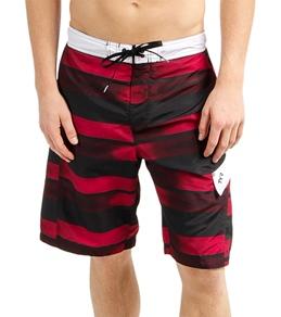 TYR Men's Fading Stripe Boardshort