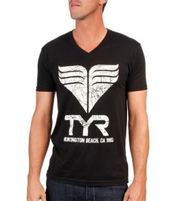 TYR Men's Mondo Cool V Neck Tee