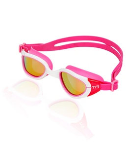 TYR Pink Special Ops 2.0 Small Polarized Goggle