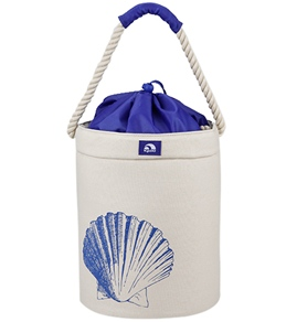 Igloo Sea Life Beach Bucket Canvas Cooler Tote