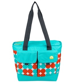 Igloo Polka Dots Dual Compartment Cooler Tote