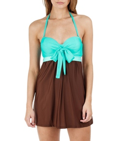 Athena Worth Avenue Bandeau Swim Dress