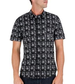Volcom Men's Skullphone S/S Shirt