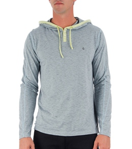 Volcom Men's Hock Hooded Henley L/S Shirt
