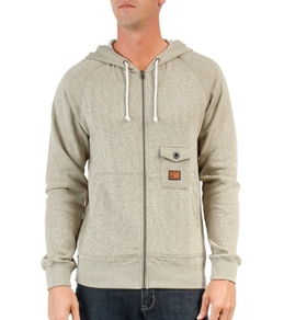 Volcom Men's Phenom Zip Hooded Fleece