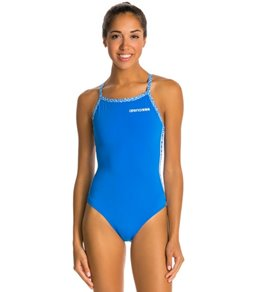 Arena Diamonds Stripe Light Drop One Piece