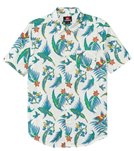 Quiksilver Men's Echo Parrot Short Sleeve Shirt