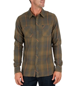 Quiksilver Men's Garage Shape L/S Flannel