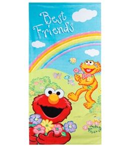 JP Imports Elmo and Zoe Beach Towel