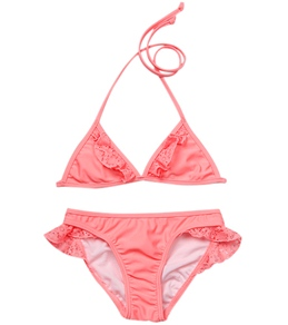 Seafolly Girls Roller Girl Tri Kini Set (6-16)