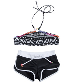 Seafolly Girls Tribal Craze Tankini Set (6-14)