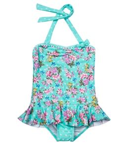 Seafolly Girls Kitchen Tea Ballerina Tank One Piece (4-7)