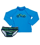 Tiger Joe Boys' Dirtbikez Baby L/S Rashguard Set (3-36mos)