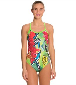 Hardcore Swim Women's Hula X Back One Piece Swimsuit