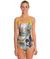 HARDCORESPORT Women's Mardi Gras Cali Back One Piece Swimsuit