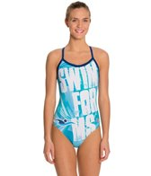 HARDCORESPORT Women's Swim for MS X Back One Piece Swimsuit