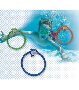 Prime Time Toys Dive 'N Grab Shark Frenzy Dive Rings
