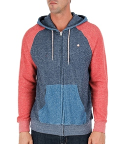 Billabong Men's Balance Zip Up Hooded Fleece