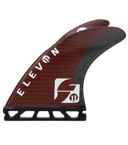 Future Fins Carbon & Kevlar Elevon Quad Fin Set (Sm)