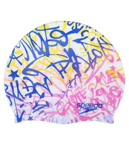 Speedo Love Music Silicone Swim Cap