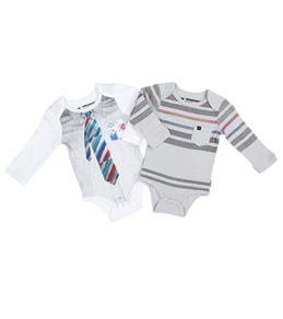 Quiksilver Boys' Shallow End Onesie (0-12mos)