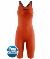 Arena Powerskin Carbon Pro Open Back Full Body Short Leg Tech Suit Swimsuit