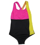 Speedo Girls' Colorblock Splice Ultraback One Piece (7-16)