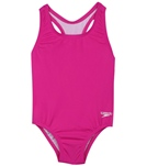 Speedo Girls' Racerback One Piece (2T-3T)