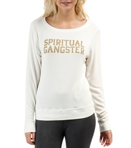 Spiritual Gangster SG Varsity Savasana Pullover
