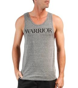 Spiritual Gangster Warrior Triblend Grey Tank