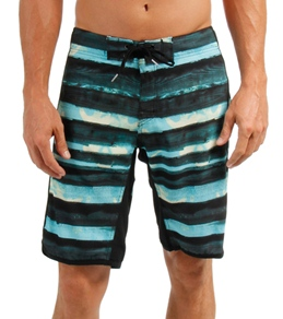 Reef Men's Wooden Stripes Boardshort