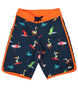 Quiksilver Boys' Pollybird Boardshort (8-14+)