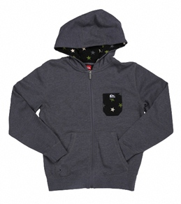 Quiksilver Boys' Solana Star Zip Up Hoodie (8-20)