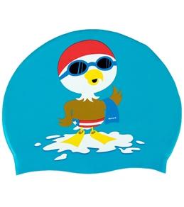 Sporti Little Eagle Silicone Swim Cap Jr.