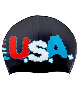 Sporti Jets Silicone Swim Cap