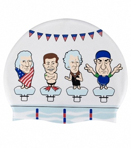 Sporti Presidents Meet Silicone Swim Cap Jr.