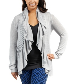 Lucy Plus Size Charming Sweater Wrap (Curvy)