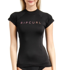 Rip Curl Women's Sunset Beach Cap Sleeve Rashguard