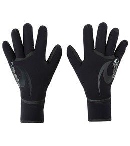 Rip Curl Men's Flash Bomb 5/3mm 5 Finger Glove