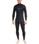 Rip Curl Men's E Bomb 4/3mm Chest Zip Fullsuit Wetsuit