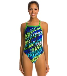 Waterpro Action Thin Strap One Piece Swimsuit