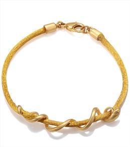 Satya Jewelry Mustard Arm Yourself Bracelet