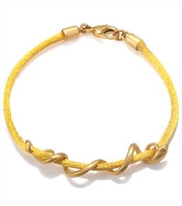 Satya Jewelry Yellow Arm Yourself Bracelet