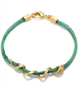 Satya Jewelry Green Arm Yourself Bracelet