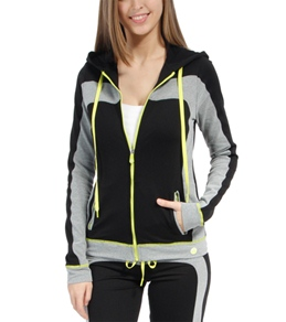 Trina Turk Track Set Hooded Jacket