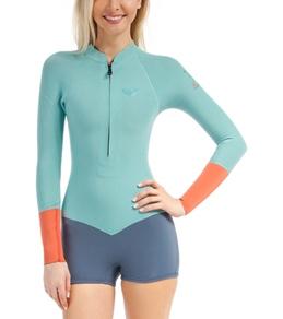 Roxy Women's 2MM K Meador Front Zip L/S Spring Suit